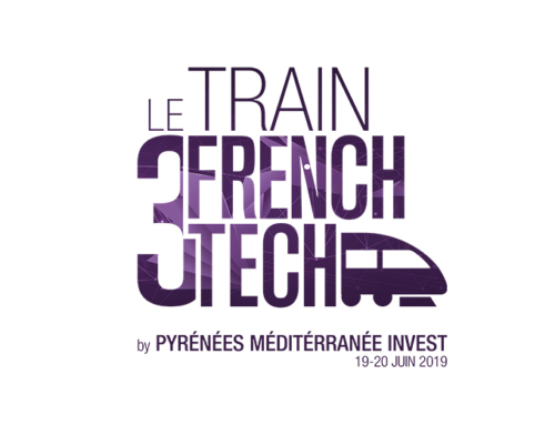 Le Train de la French Tech Perpignan embarque des trophées made in Click'n 3D !